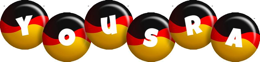 Yousra german logo
