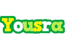 Yousra soccer logo