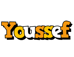 Youssef cartoon logo