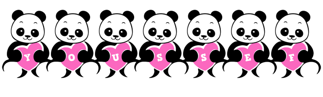 Youssef love-panda logo