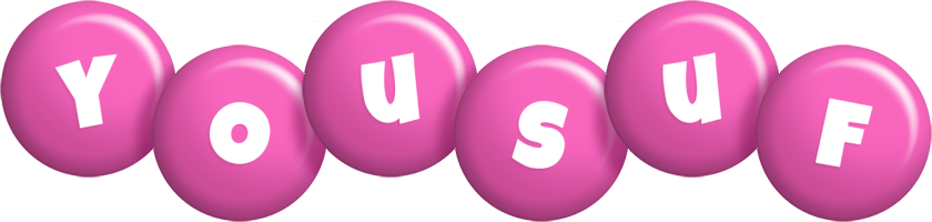 Yousuf candy-pink logo