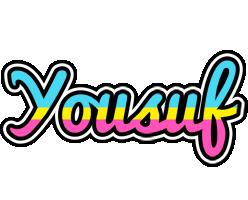 Yousuf circus logo