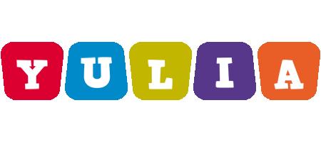 Yulia daycare logo