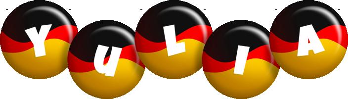 Yulia german logo