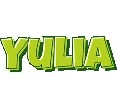 Yulia summer logo