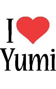 Yumi i-love logo