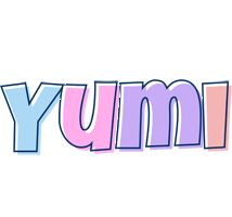 Yumi pastel logo