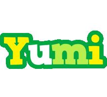 Yumi soccer logo