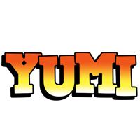Yumi sunset logo