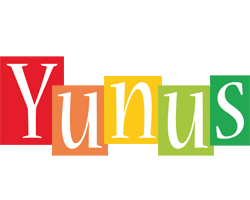 Yunus colors logo