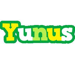 Yunus soccer logo
