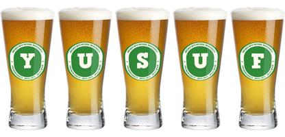 Yusuf lager logo