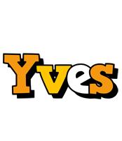 Yves cartoon logo