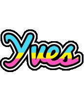 Yves circus logo