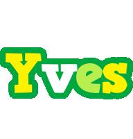 Yves soccer logo