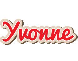 Yvonne chocolate logo