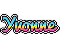 Yvonne circus logo