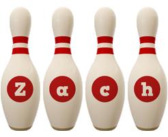 Zach bowling-pin logo