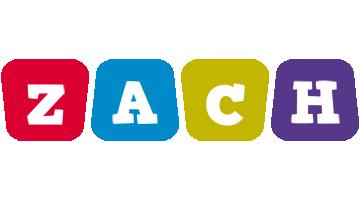 Zach daycare logo