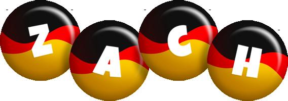 Zach german logo
