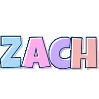 Zach pastel logo