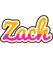 Zach smoothie logo