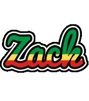 Zack african logo