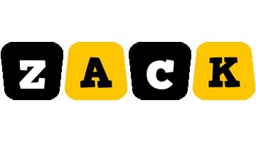 Zack boots logo
