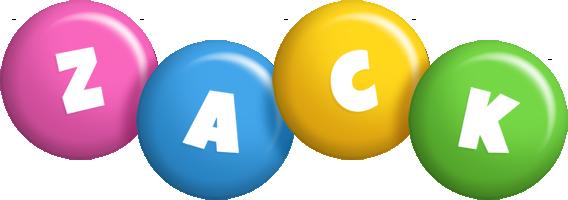 Zack candy logo