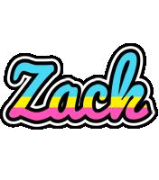 Zack circus logo