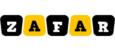 Zafar boots logo