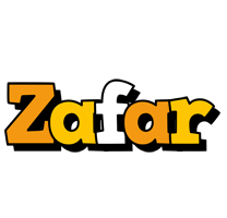 Zafar cartoon logo