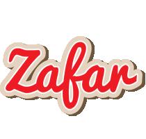 Zafar chocolate logo