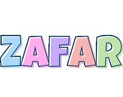 Zafar pastel logo