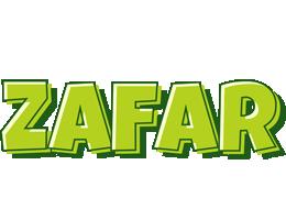 Zafar summer logo