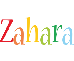 Zahara birthday logo