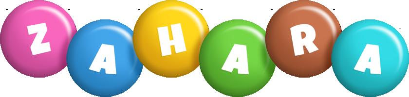 Zahara candy logo