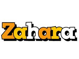 Zahara cartoon logo