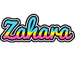 Zahara circus logo