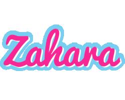 Zahara popstar logo