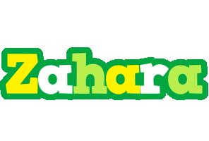 Zahara soccer logo