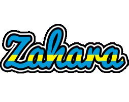 Zahara sweden logo