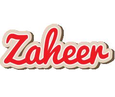 Zaheer chocolate logo