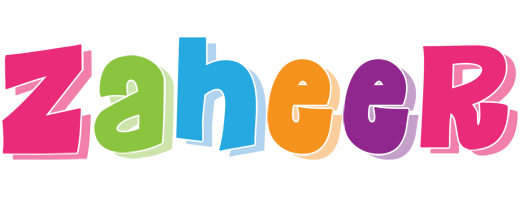 Zaheer friday logo