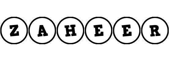 Zaheer handy logo