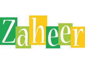 Zaheer lemonade logo