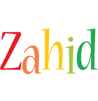 Zahid birthday logo