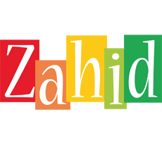 Zahid colors logo