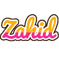 Zahid smoothie logo