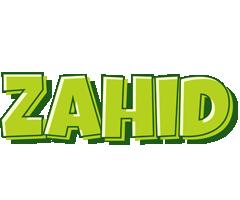 Zahid summer logo